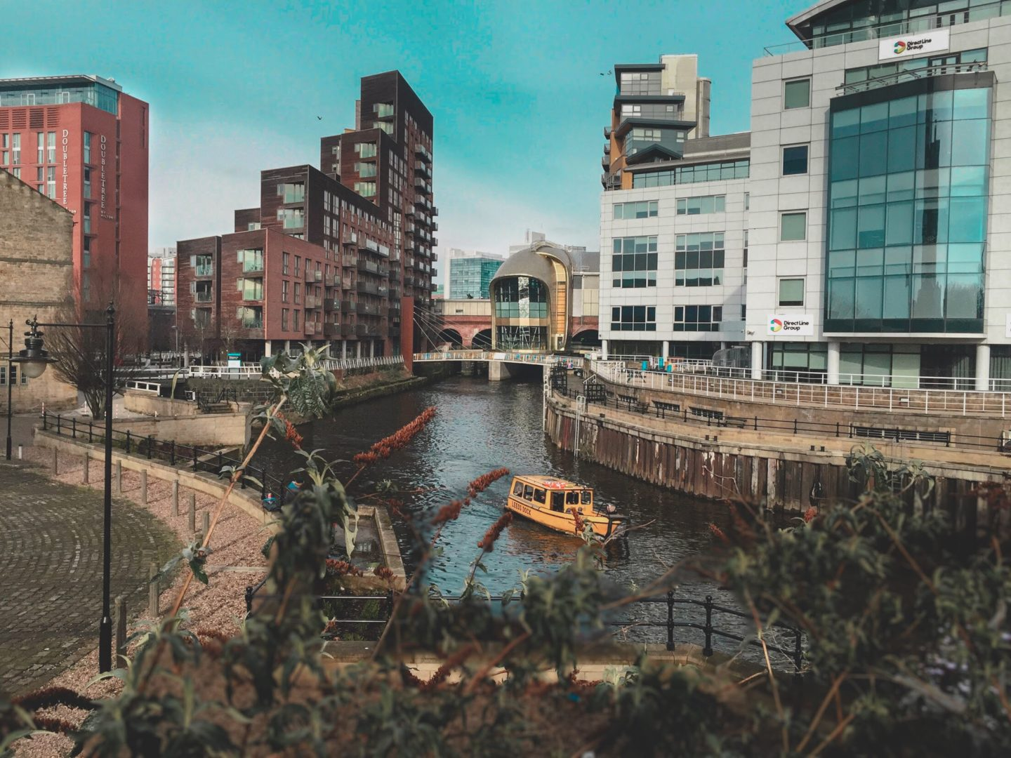 An image of the Leeds Liverpool canal